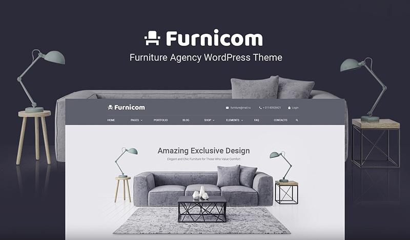 Darmowe szablony WordPress Furnicom