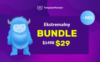 Zestaw szablonów, frontów, elementów graficznych, hosting strony za $29! Wow…