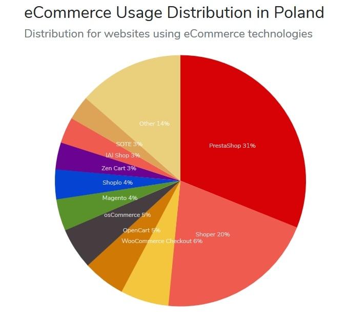 Popularność e-Commerce w Polsce 2019