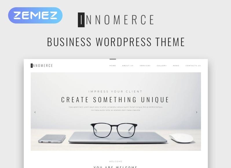 Innomerce motywy templatki WordPress