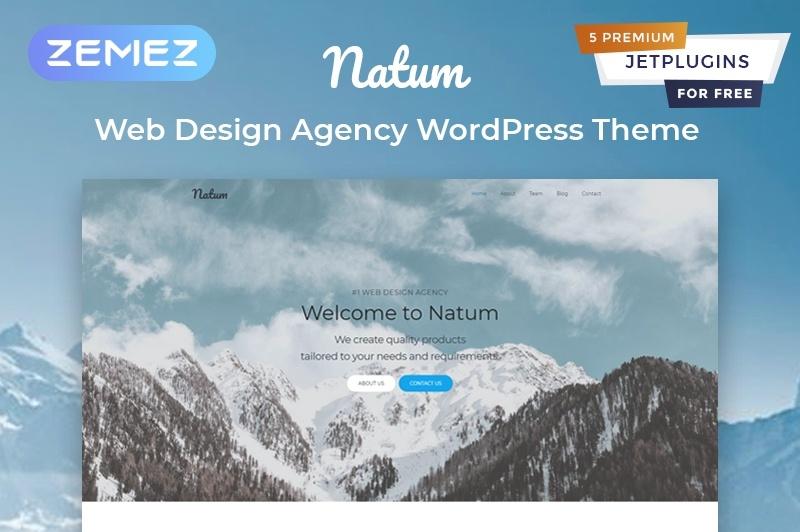 Natum motywy templatki WordPress