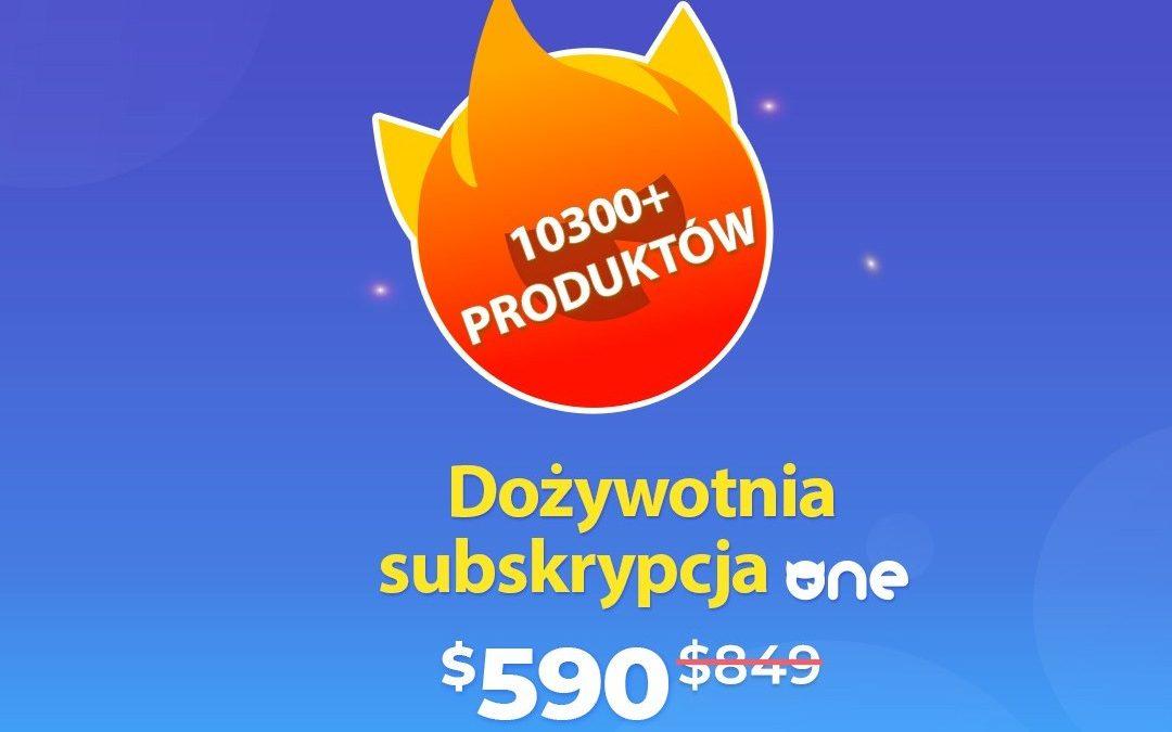 Dożywotna subskrypcja w serwisie ONE od TemplateMonster!
