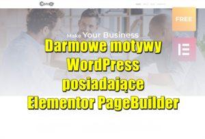 Darmowe motywy WordPress posiadające Elementor PageBuilder