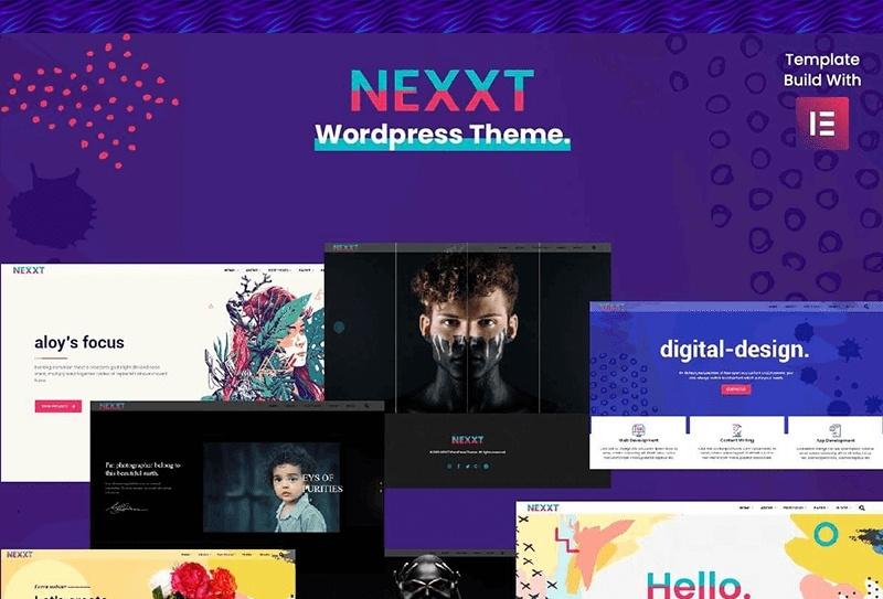 Nexxt motywy templatki wordpress