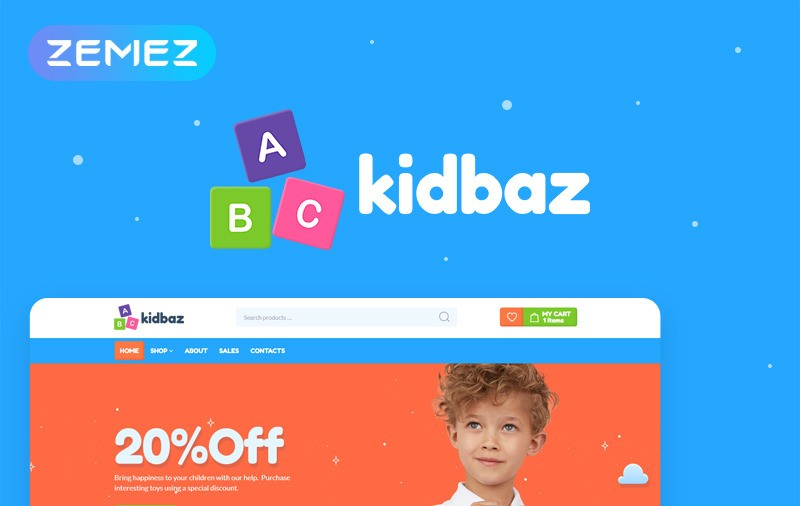 Kidbiz motywy WooCommerce WordPress