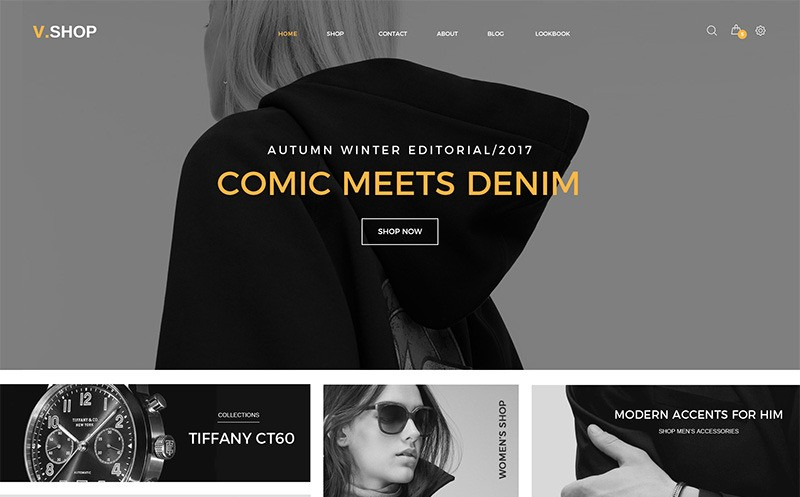 VShop motywy WooCommerce WordPress