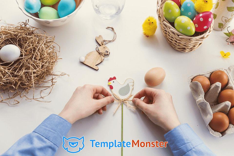 Wielkanocna promocja TemplateMonster